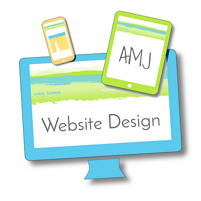 AMJ Website Design Image